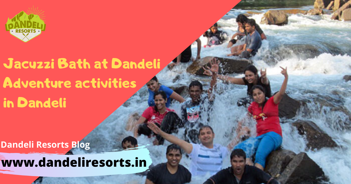 Jacuzzi Bath at Dandeli - Adventure activities in Dandeli