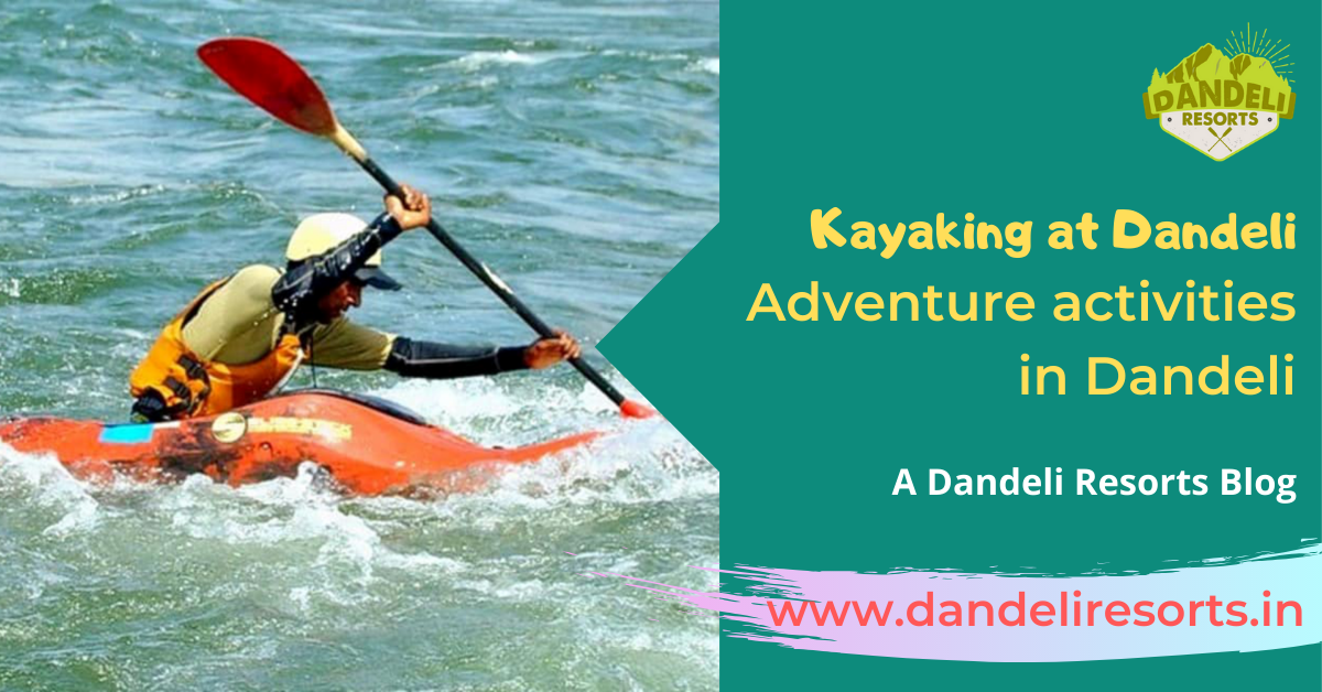 Kayaking at Dandeli - Adventure activities in Dandeli