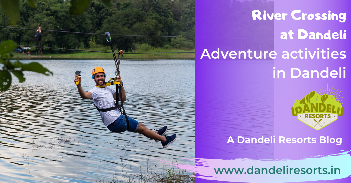 River Crossing in Dandeli - Adventure activities in Dandeli