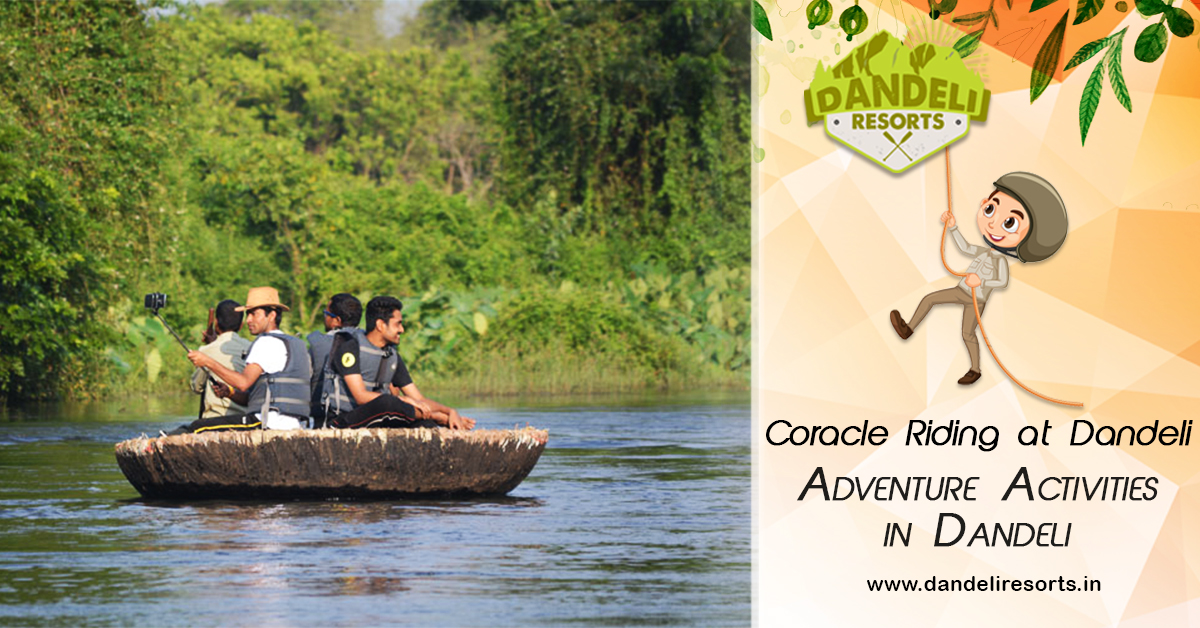 Coracle Riding in Dandeli - Adventures Activity In Dandeli